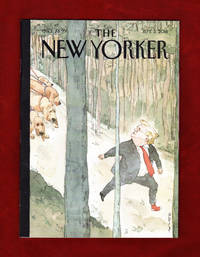 "image of The New Yorker - September 3, 2018. Barry Blitt Cover, ""Closing In""; Presidential Misconduct; Ortega Regime; Color Archive; Hyperpolyglots; Nicki Minaj; Francis Fukuyama; Fashion Copycats; Michael Cohen"