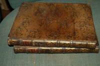 Horatii Flacci Opera by Ludovcus Desprez , 1762 ,  Gorgeous 2 Vol Tiger Maple Leather Set , Rare