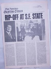 image of San Francisco Express Times, vol.1, #44, November 20, 1968; Rip-Off at SF State