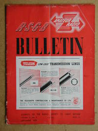 The R.S.G.B Bulletin. September 1951. Vol. XXVII No. 3. Official Journal of the Incorporated...