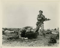 image of The Steel Bayonet (Collection of 5 original photographs from the 1957 film)