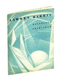 Lawren Harris. Paintings 1910-1948 by  Lawren Harris - Paperback - First Edition - 1948 - from RareNonFiction.com and Biblio.com