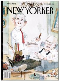 image of NEW YORKER: COVER: THE ODD COUPLE, by BARRY BLITT
