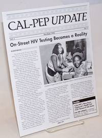 CAL-PEP Update: vol. 2, #1, May/June 1992; On-street HIV testing becomes reality