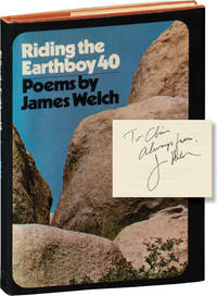 image of Riding the Earthboy 40 (First Edition, inscribed to fellow author Chris Offutt)