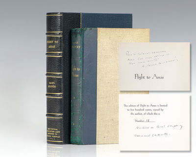 New York: Reynal & Hitchcock, 1942. Signed limited edition one of 500 copies, additionally inscribed...