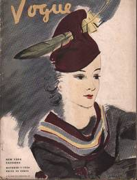 image of Vogue Magazine. New York Fashions. October 1, 1934.