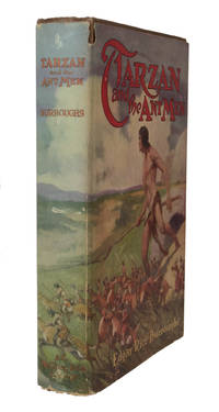 Tarzan and the Ant Men by  Edgar Rice BURROUGHS - First Edition - 1924 - from Heritage Book Shop, LLC and Biblio.com