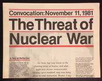 image of Convocation: November 11, 1981. The threat of nuclear war