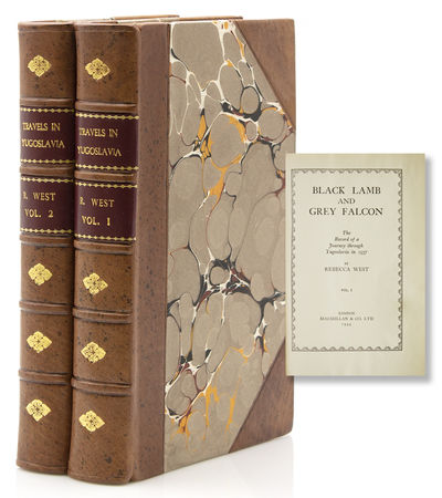 London: Macmillan & Co, 1944. Reprint. Illus. 586; 633pp. 2 vols. 8vo. Bound in modern three quarter...