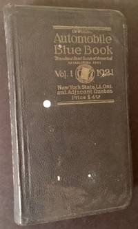 Official Automobile Blue Book (1921)-- Vol. One: New York State and Adjacent Canada
