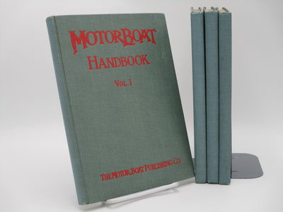 New York. : The Motor Boat Publishing Company. , 1909-1912. Blue cloth, red cover titles.. Very good...