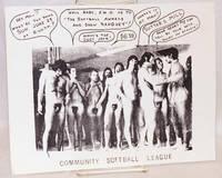 image of Community Softball League [handbill]