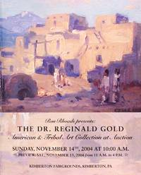 image of Dr. Reginald Gold American & Tribal Art Collection Auction Catalog