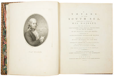 London: printed for George Nicol, 1792. Quarto. (11 5/8 x 9 1/4 inches). 264pp. Stipple-engraved por...