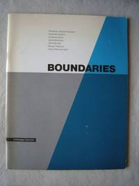 Boundaries by  Pavel [Editor] Buchler - Paperback - 1986-07-01 - from Hopton Books and Biblio.com