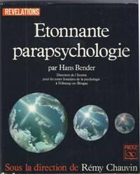 Etonnante parapsychologie  traduction de Louis Muckensturn