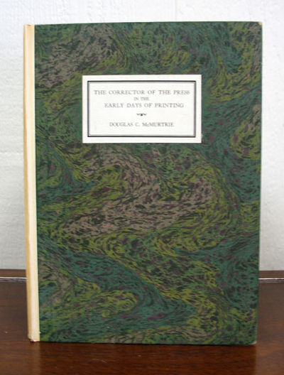 Greenwich CT: Condé Nast Press, 1922. 1st edition. Signed/Limited #76/400 cc. Parchment spine with ...
