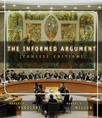 The Informed Argument, Brief Edition (with InfoTrac) by Robert P. Yagelski - Paperback - 2003-07-07 - from Books Express (SKU: 0838457096n)