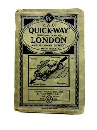 The R.A.C. 'Quick-Way' Motoring Map Of London