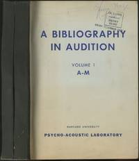 image of A Bibliography in Audition [in Two Volumes]