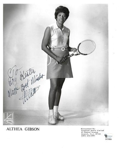 African-American Tennis Legend Althea...