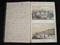Autograph diary of her travels in Italy including Rome, Pompeii, and other visitors' destinations