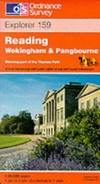 image of Reading, Wokingham and Pangbourne (Explorer Maps)