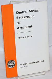 image of Central Africa: Background to Argument