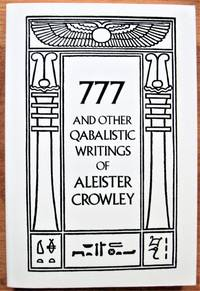 image of 777 and Other Qabalistic Writings of Aleister Crowley: Incluing Gematria and Sepher Sephiroth