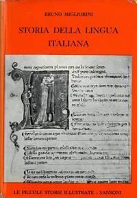 Storia della lingua italiana.
