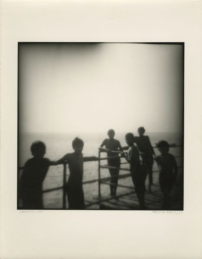 1978. Original silver gelatin photograph, image size 9 x 9 in. printed on photographic paper, 11 x 1...