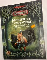 Monstrous Compendium, Appendices I & II (AD&D, 2nd Ed, Roleplaying, Accessory/2162)