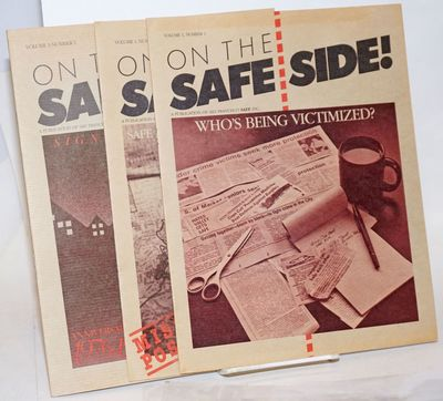 San Francisco: Safety Awarenes For Everyone, Inc, 1986. Magazine. Three issues, 8p., 8p., & 16p., 8....