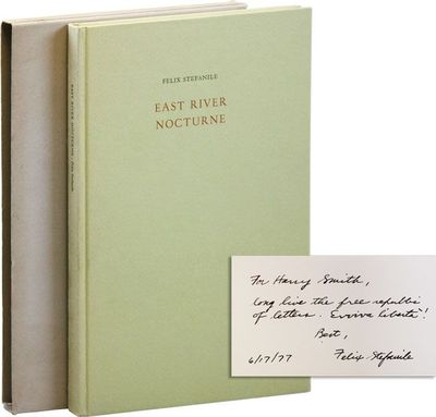 New Rochelle: Elizabeth Press, 1976. First, Limited Edition. First printing. One of 300 copies; this...