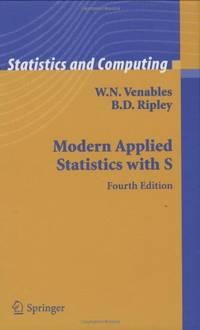 Modern Applied Statistics with S (Statistics and Computing) (Statistics and Computing)