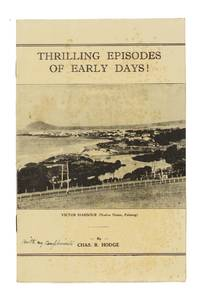 Thrilling Episodes of Early Days! [cover title]