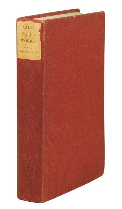 8vo. Oxford: At the Clarendon Press, 1905. 8vo, xxxvi, 384 pages. Folding frontispiece facsimile man...
