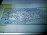 WWII First Edition Map of Turkey