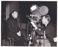 image of The Beast with Five Fingers (Original photograph of Robert Florey and Peter Lorre on the set of the 1946 film)