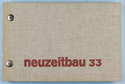 Stuttgart: Tapeten- und Linoleumhaus Paul Schmitz, 1933. First edition. Hardcover. g+ to vg. Oblong ...