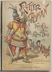 Ritter Pásmán [Piano solo] Komische Oper in 3 Acten von Ludwig Dóczi