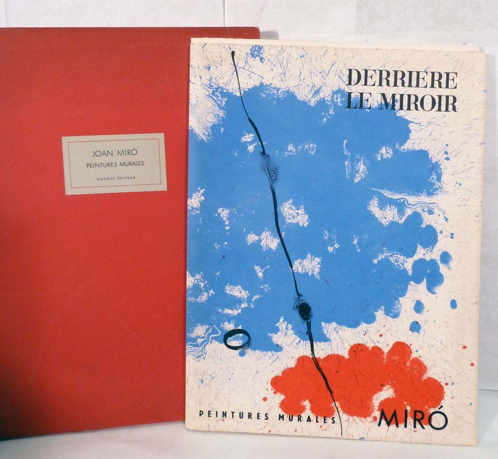 Peintures murales de miro derriere le miroir 128 by joan for Miro derriere le miroir