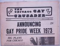 image of Chicago Gay Crusader: the total community newspaper; #2, June 1973: Announcing Gay Pride Week 1973