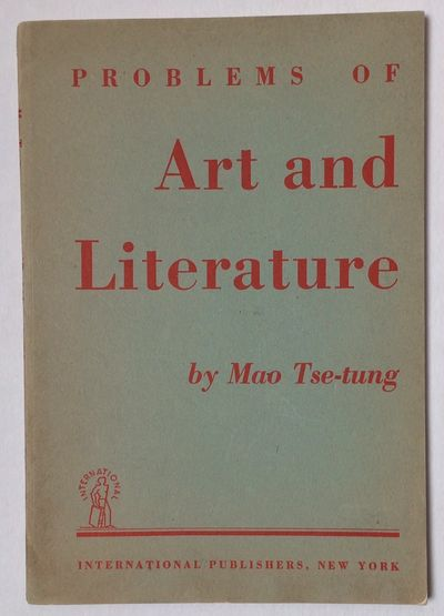 New York: International Publishers, 1950. 48 p., slender paperback, mild toning. A republication of ...