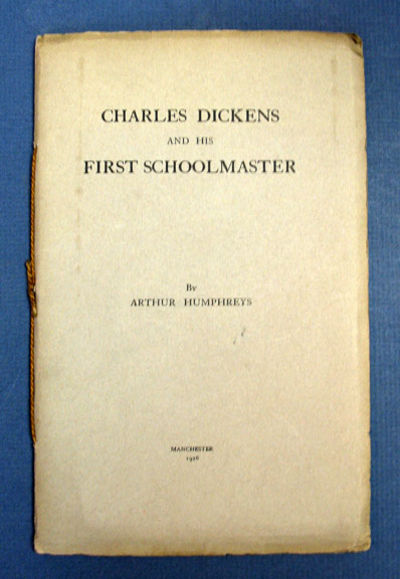 Manchester, 1926. 1st edition (NCBEL III, 832). SIGNED by the author on the t.p.. Grey printed wrapp...