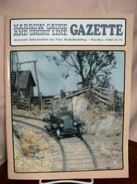 image of NARROW GAUGE AND SHORT LINE GAZETTE - NOVEMBER/DECEMBER, 1989; VOLUME 15, NUMBER 5
