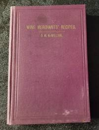 image of The Wine Merchants' Book of Recipes