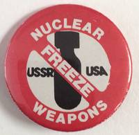 image of Nuclear Weapons Freeze [pinback button]