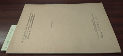 First Edition. Softcover. 8vo, paged 679-700; VG; tan cover with black print, pencil notation to upp...
